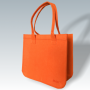Filztasche orange, individuelle Fertigung