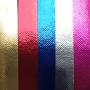 Laminierungen auch in Metallic-Farben erhältlich
