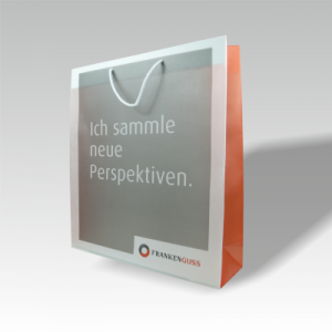transparente Papiertasche FRANKENGUSS