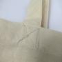 Dezente Baumwolltasche für Ableton in Natur mit Siebdruck in Nahaufnahme