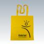 Baumwolltasche in gelb mit langen Trageschlaufen