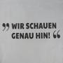 Baumwolltasche in Weiß mit hochwertigem Digitaldruck und langen Trageschlaufen (Rückseite) in Nahaufnahme