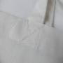 Baumwolltasche in Weiß mit hochwertigem Digitaldruck und langen Trageschlaufen (Front) in Nahaufnahme