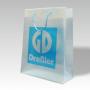 exklusive Kunststofftasche, HDPE transparent