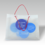 Kunststofftasche, LDPE, transparent
