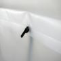 exklusive Kunststofftasche - Tragekordeln innen mit Haken