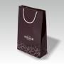 exklusive Papiertasche, glänzend laminiert