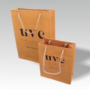 Grastaschen, braunes Papier