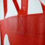 PP Non Woven Tasche mit Siebdruck in Nahaufnahme