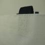 Große PP Woven Tasche mit langen Trageschlaufen und Flexodruck in Nahaufnahme
