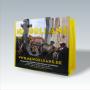 """PP Woven Tasche """"New Orleans"""" mit Foto-Motiv und gelben Akzenten"""