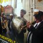 """PP Woven Tasche """"New Orleans"""" mit Foto-Motiv und gelben Akzenten in Nahaufnahme"""