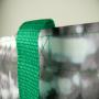 Große PP Woven Tasche mit Fotomotiv für besonders sperrige Einkäufe (Vorderseite) in Nahaufnahme