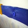 PP Woven Tasche mit Foto-Motiv und Knopf-Verschluss für die Traumfabrik in Nahaufnahme