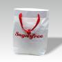 Zementsacktasche mit Bändern