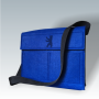 Filz Umhangetaschen royalblau, individuelle Fertigung