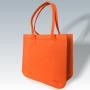 Filztasche orange, individuelle Fertigung