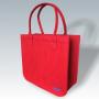 Filztasche rot, individuelle Fertigung