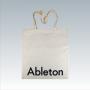 Dezente Baumwolltasche für Ableton in Natur mit Siebdruck
