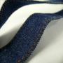 Edle Jeanstasche ohne Bedruckung in Nahaufnahme