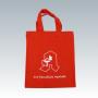 Kleine Baumwolltasche in rot für Apotheken