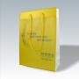 """Transparente Papiertasche """"MOBA"""" mit mehrfarbigem Druck und langen Trageschlaufen"""