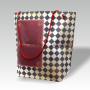 Zementsacktasche, vierfarbiger Offsetdruck